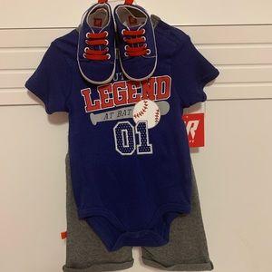 Matching Sets - Baby Boy Baseball Outfit  ⚾️